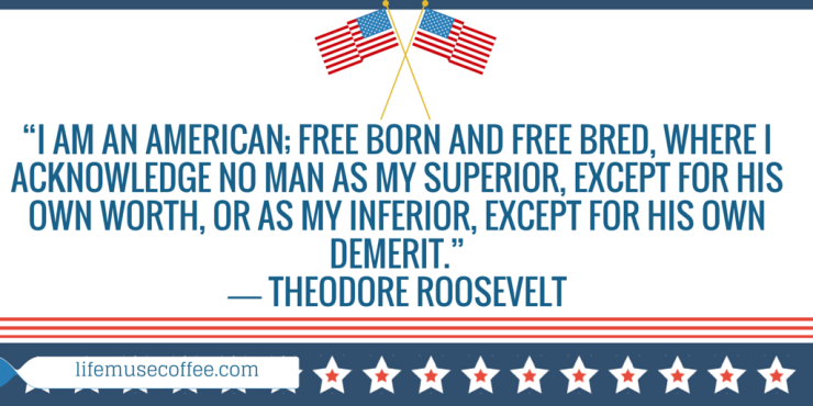"""I am an American; free born and free"